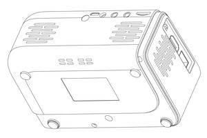 Registered design patent RCD No. 007958285-0001, view 8